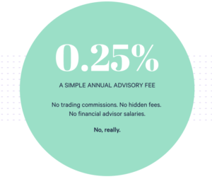 wealthfront fee